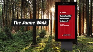 The Janne Walk