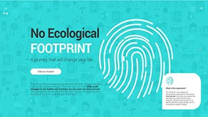 No Ecological Foot Print